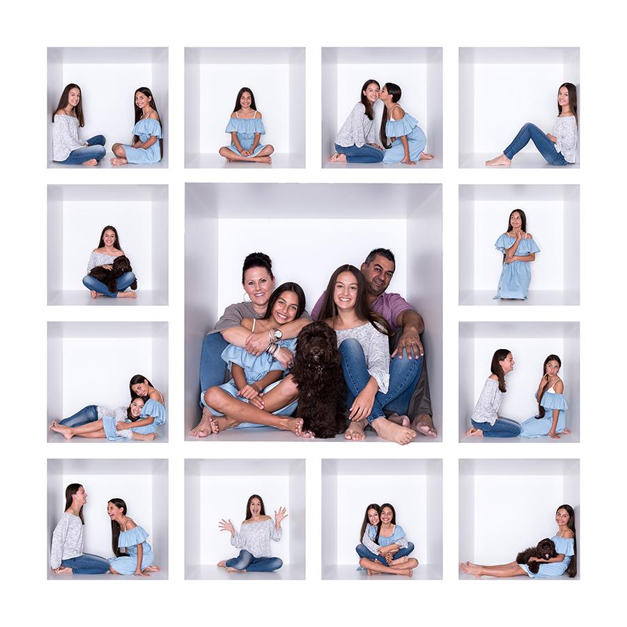 Family Photos White Box