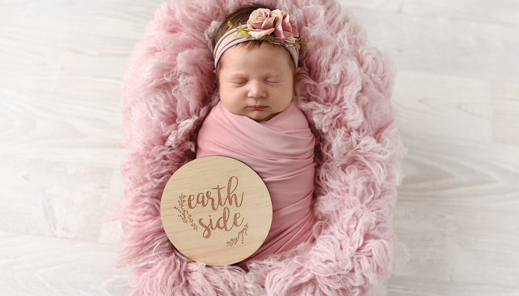 pink baby photos