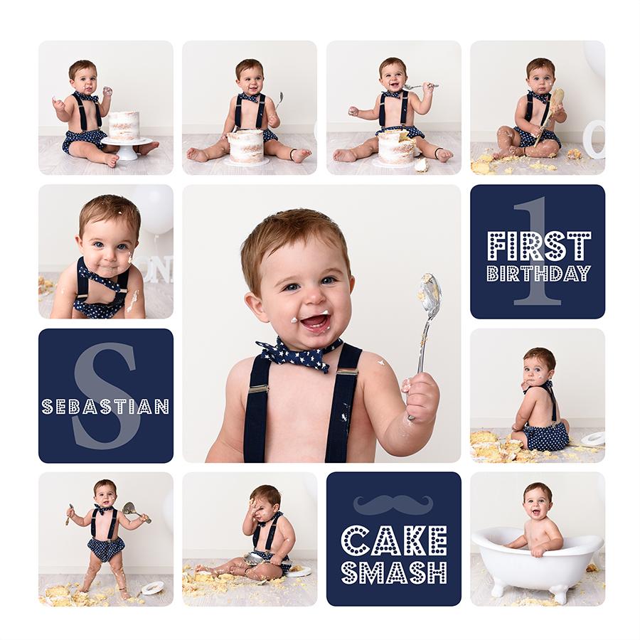 Simple Cake Smash Mornington