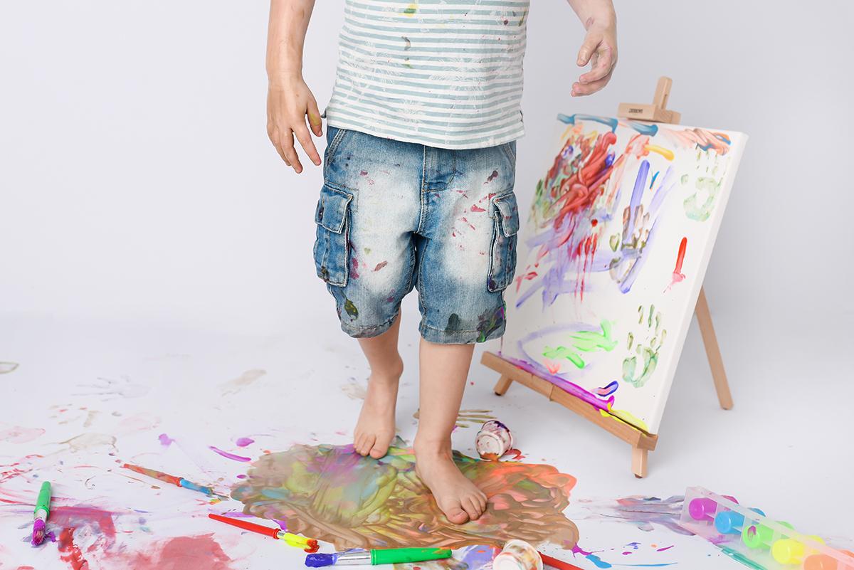 Paint Smash Photoshoot