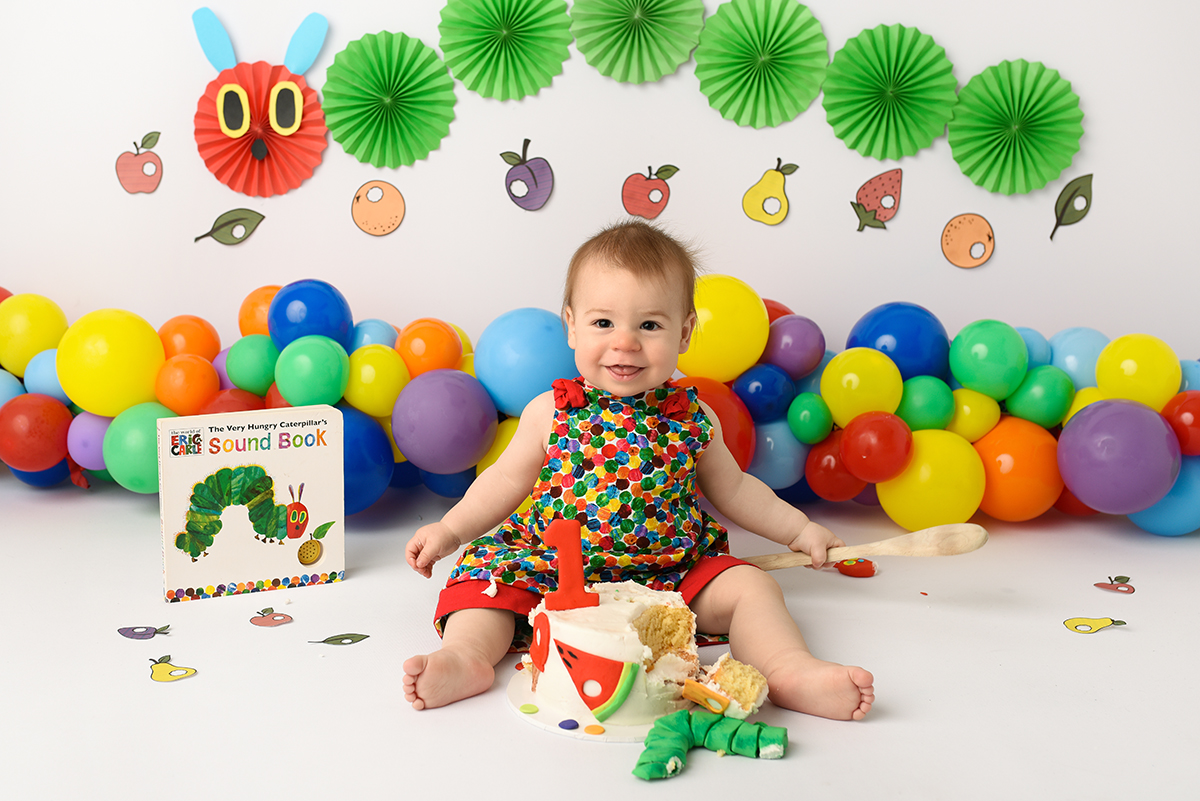 Cake Smash Hungry Caterpillar